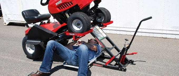 Lawn Mower Lift